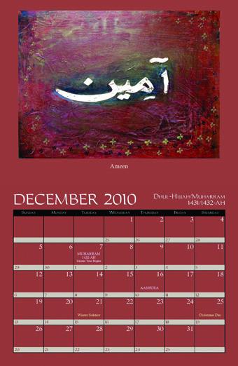islamic Calendar-2010