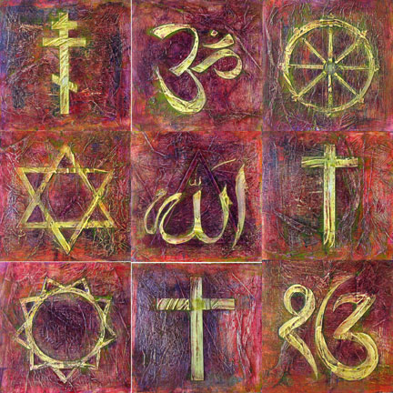 Inter-faith tile set